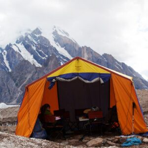 Shimshal Adventure Shop Mess Tent