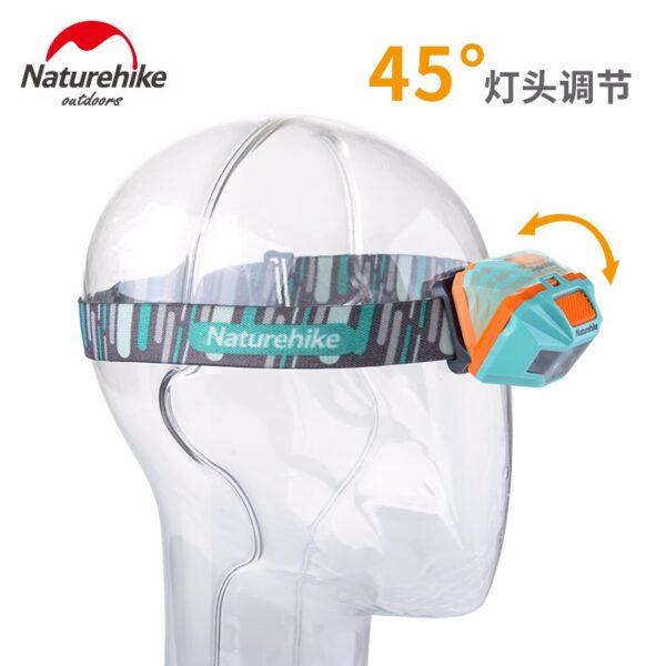 Naturehike Lightweight Rechargeable Headlamp - Shimshal Adventure Shop