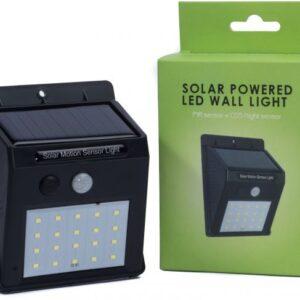 Solar Powered Led Wall Light - Shimshal Adventure Shop