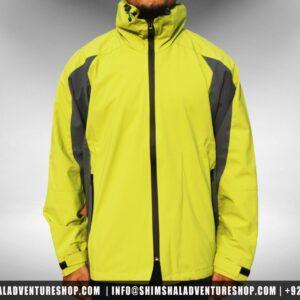 Water Proof Parka Jacket GREEN - Shimshal Adventure Shop