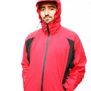 Shimshal Adventure Shop Water Proof Parka Jacket RED