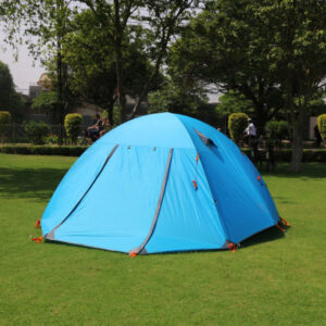 Jungle-King Dome Tent Blue - Shimshal Adventure Shop